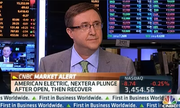 John Goltermann speaking on CNBC
